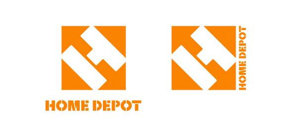 New Home Depot Logo