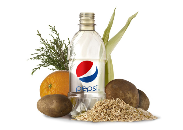Pepsi Plant Based Bottle