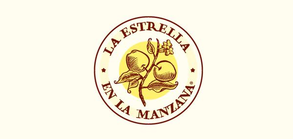 Logo by Estudio Menta and Laura Méndez for soap brand La Estrella en La Manzana