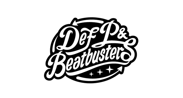 Logo created by Eric van den Boom for Dutch musicians Def P & Beatbusters