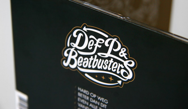 New illustrative packaging designed by Eric van den Boom for Dutch musicians Def P & Beatbusters