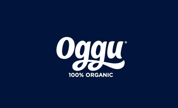 Logo designed by Design Bridge for organic soft drink Oggu