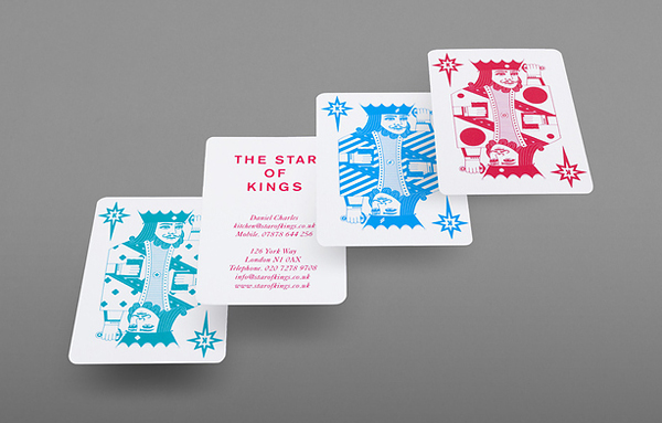 Print and identity designed by Bunch for London pub and live music venue The Star of Kings