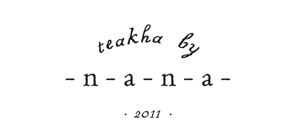 Logo for travel junkie and food writer Nana Chan designed by Gardens & Co.