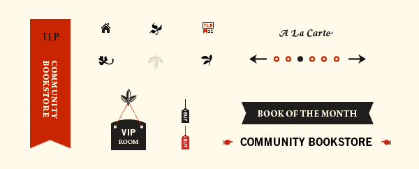 Visual identity designed by Fuzzco for on-line publisher of independent authors The Lit Pub