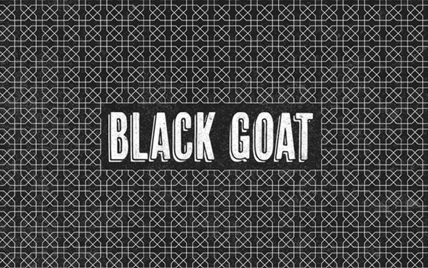 Black Goat Coffee Designed by Salih Kucukaga