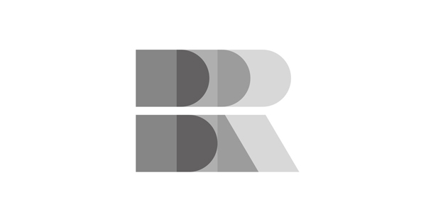 Logo for Auckland based brand strategy and design firm Brian R Richards
