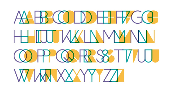 Custom typeface for Auckland based brand strategy and design firm Brian R Richards