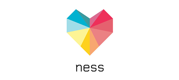 Ness - Logo and mobile experience designed by Moving Brands