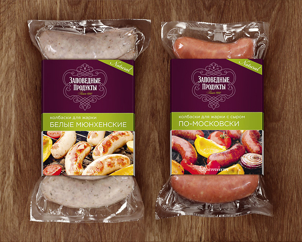 Dmitrov Sausage designed by Island of Freedom