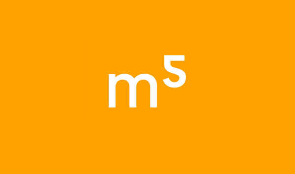 Logo for Helsinki based architectural, urban planning and furniture design studio M5