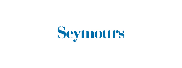 Logo and stationery designed by Spin for international art acquisition advisory service Seymours