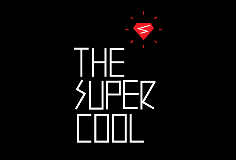 Logotype designed by Studio Alto for Australian mobile retail experience The Supercool