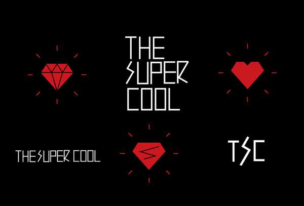 Logotype and icons designed by Studio Alto for Australian mobile retail experience The Supercool