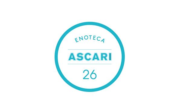 Logo designed by Blok for Toronto based Italian restaurant Ascari Enoteca