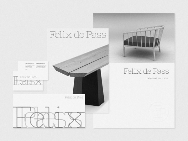 Felix de Pass - Logo design and print work by Andreas Neophytou