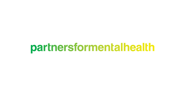 Logo created by Blok for Canadian charity Partners For Mental Health