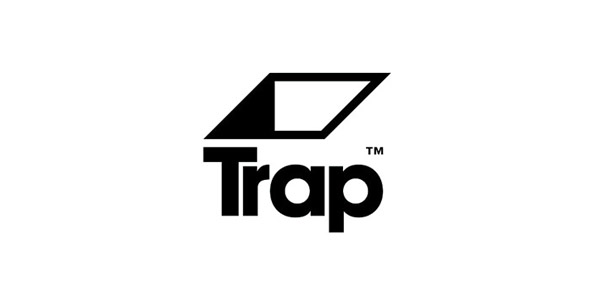 new visual identity for trap recordings by red design bp o