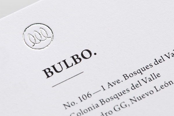 Bulbo - Logo and branding by Anagrama