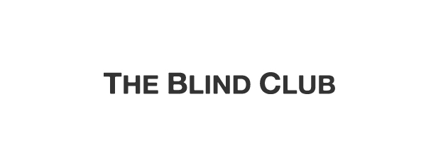 Sans-serif logotype designed by Catalogue for cinematic production company The Blind Club