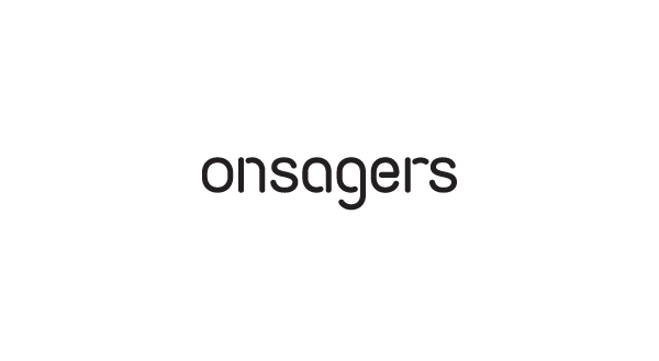 Logo designed by Uniform for intellectual property specialist Onsagers