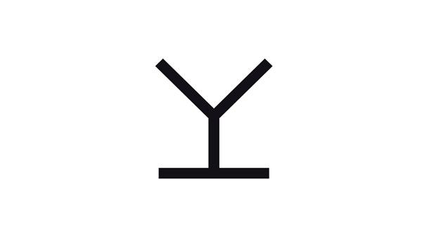 Logo designed by Stockholm Design Lab for spirit themed art gallery, museum, tasting room and bar Spritmuseum