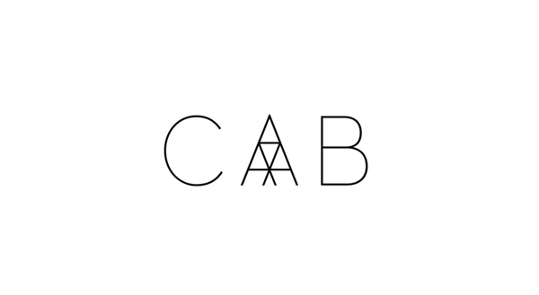 Logo designed by Codefrisko for private gallery and contemporary art centre CAB