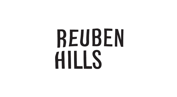 Logo designed by Luke Brown for coffee roastry and cafe Ruben Hills