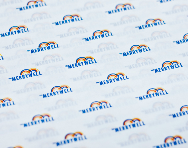 Logo and design for print by CIP for The Merrywell