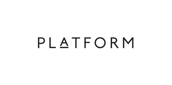 Logo for London bar and restaurant Platform designed by Substrak