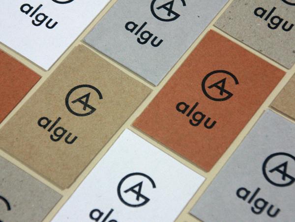 Algu - Logo and branding by Francesc Moret