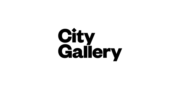 Logo for non-collecting exhibition-based public gallery City Gallery by Designworks