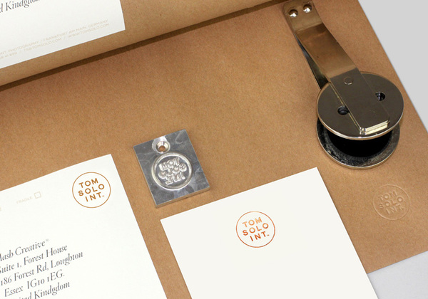 Tom Solo - Logo and branding by Mash Creative