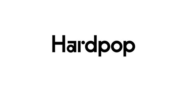 Logo designed by Face for electronic music venue Hardpop