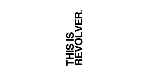Logo for film production company Revolver designed by Toko
