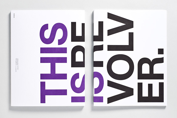 Print for film production company Revolver designed by Toko