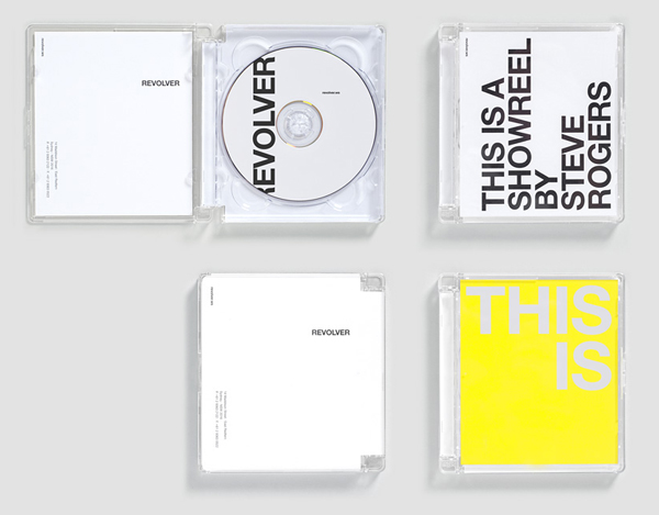 Logo and DVD packaging for film production company Revolver designed by Toko