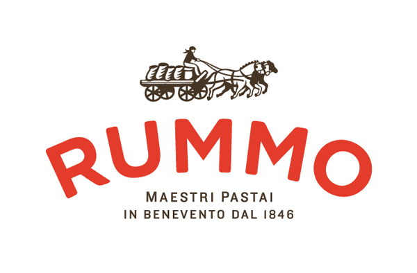 Logo for pasta brand Rummo designed by Irving & Co.