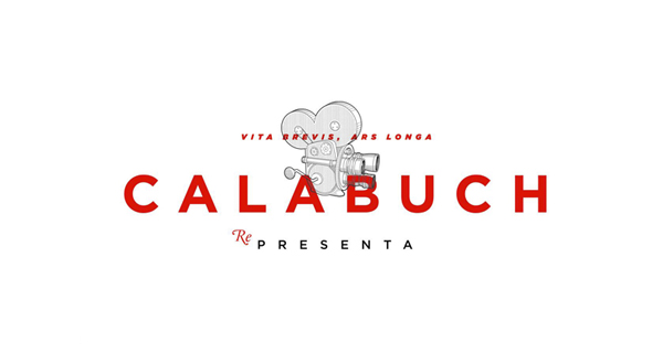 Logo with illustrative detail for Spanish artist management service Calabuch developed by Tres Tipos Graficos