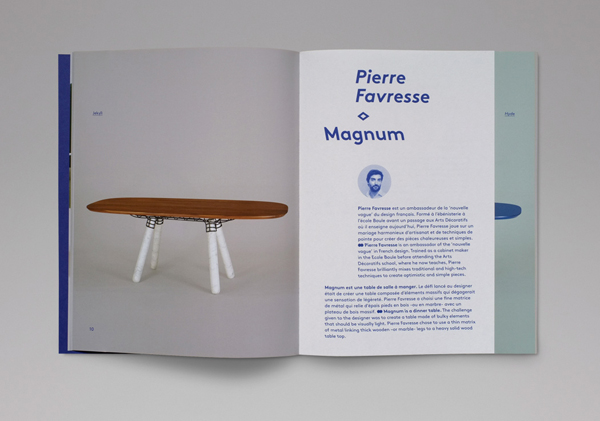 Catalogue for furniture and lighting company La Chance designed by Artworklove