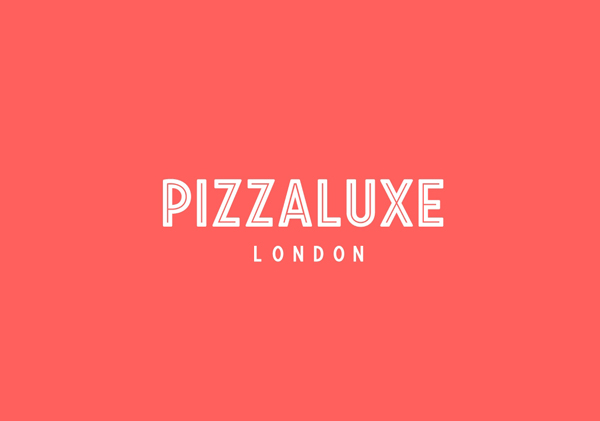 Logo for freshly-baked, deluxe pizza restaurant Pizza Luxe designed by Touch