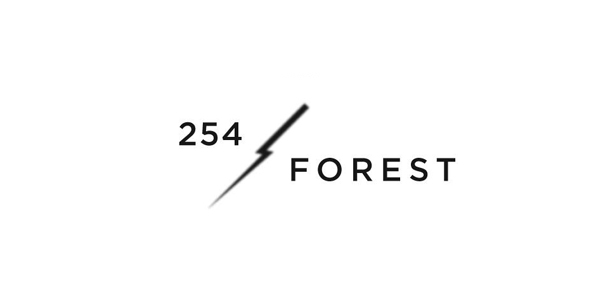 Logo for creative studio 254 Forest designed by Codefrisko