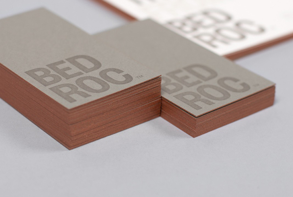 Bedroc - Logo and stationery designed by Perky Bros.