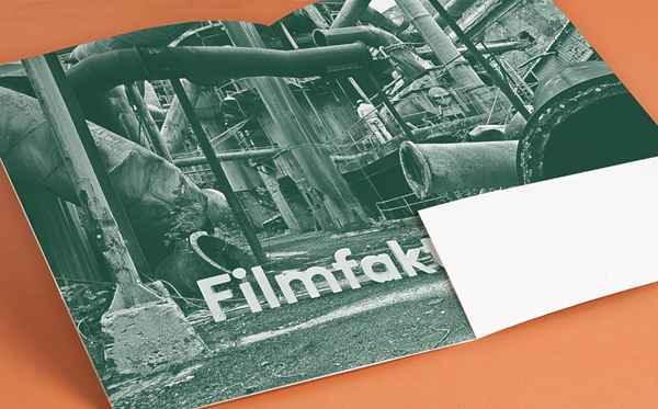 Filmfaktisk - Logo, stationery and location photography created by Heydays