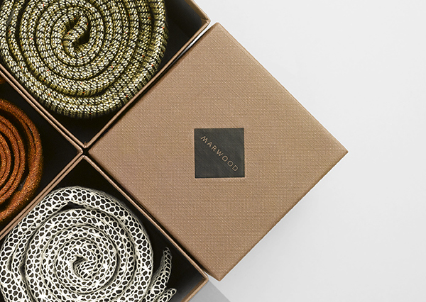 Marwood - Logo and packaging designed by Everything In Between