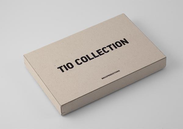 Pen box for furniture company Massproductions designed by Britton Britton