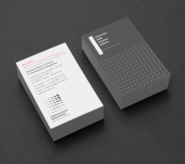 Logo and stationery design for EMSCom by Moving Brands