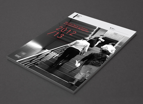 Design for print, created by Moving Brands for EMSCom