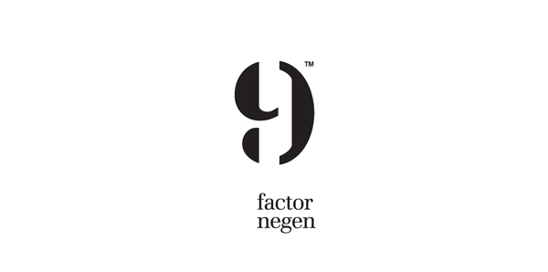 Logo design by Red Thumb for Dutch employment specialist Factor Negen