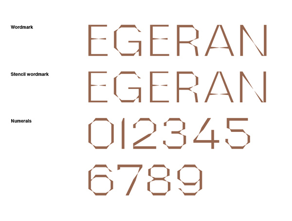 Logo design by Project Projects for conceptual art gallery Egeran